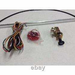 1949-56 Plymouth / Fits Chrysler Wiper Kit w Wiring Harness power accessories mo