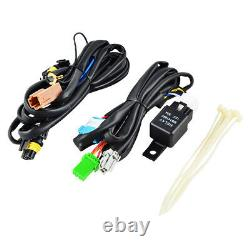 Bumper Fog Lights with Wiring Harness Switch Fits For Honda Accord V6 2008-2010