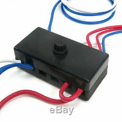 DUNE BUGGY UNIVERSAL WIRING HARNESS With FUSE BOX FITS EMPI 9466 VW RAIL BUGGY