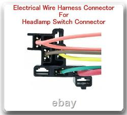 Electrical Connector (Pigtail) Wiring Harness for Headlamp Switch DS177 Fits GM