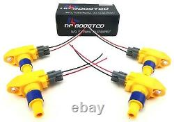 FITS 2004+ RX8 COILS RX-8 IGNITION COIL PACKS with Wire Loom Pigtail Harness Kit