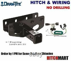 Fits 2007-2017 Jeep Wrangler Class 3 Trailer Hitch & Wiring 2 Receiver 75515
