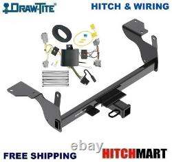 Fits 2014-2017 Volvo Xc60 XC 60 Class 3 Trailer Hitch & Wiring 2 Opening 76116