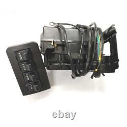 Fits for 11-16 Ford F-150 F-250 F-350 Super Duty Auxiliary Dash Upfitter Switch
