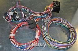 New 12 Circuit Wiring Harness Hot Rod Rat Rod Universal Fits Chevy Ford Mopar