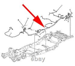 New Genuine OEM Wiring Harness Chassis 22970353 Fits Cadillac Chevrolet GMC