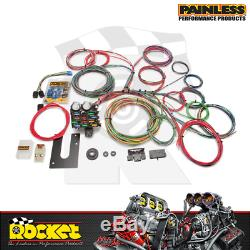 Painless 21 Circuit Universal Wiring Harness Non Fits GM Column PW10102