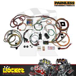Painless 22 Circuit Fits Ford Mustang 1965-66 Wiring Harness Kit PW20120
