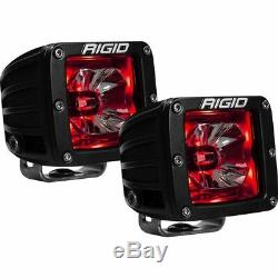 Rigid Industries 20202 Radiance Spot Light Pod With Red Backlight Pair