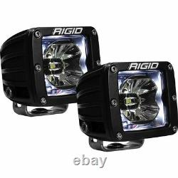 Rigid Industries Radiance Pod White Backlight With Mounting Bracket 20200