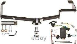 TRAILER HITCH FITS 2006-2015 HONDA CIVIC 4-DOOR ONLY With WIRING HARNESS NO DRILL